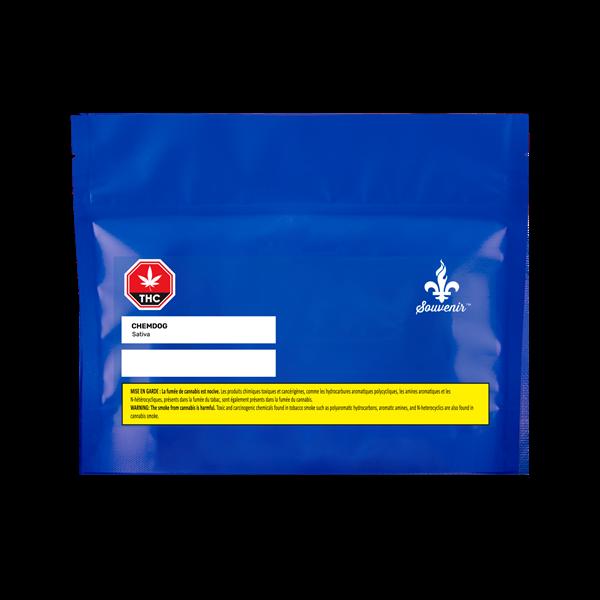 SQDC Chemdog Package Souvenir