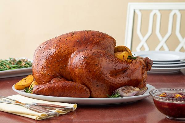 Herb and Citrus Butter Roasted Whole Turkey