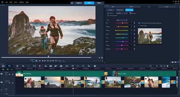 Color Grading in VideoStudio Ultimate 2019