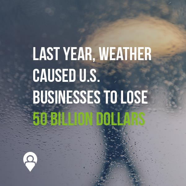 Last year, weather caused U.S. businesses to lose $50 billion | www.xad.com