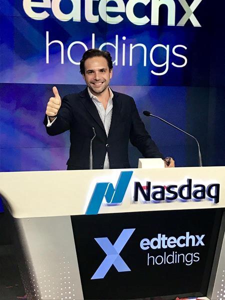 Benjamin Vedrenne-Cloquet CEO EdtechX holdings