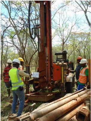 Fig 3: Auger Drilling Program