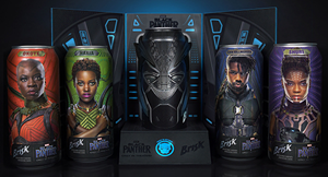 PepsiCo  Black  Panther  promotional  kit