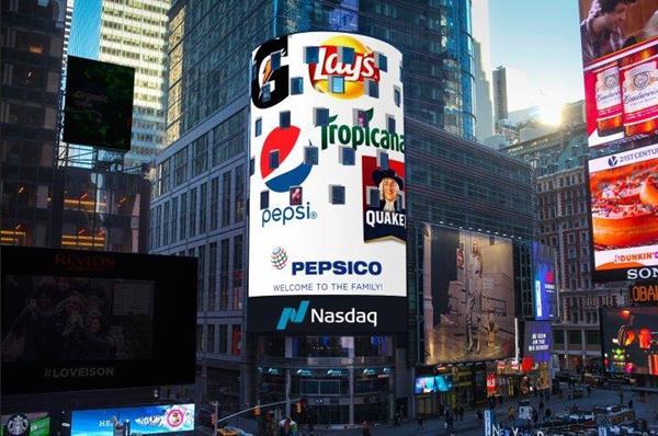 PepsiCo listing on Nasdaq
