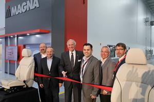 Magna Seating S.C. grand opening