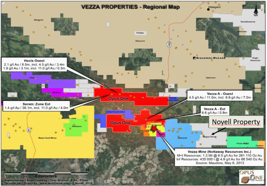 VEZZA PROPERTIES