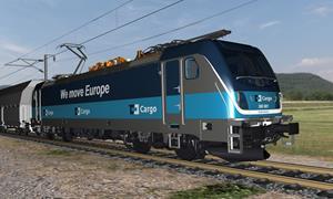 The BOMBARDIER TRAXX MS3 Locomotive