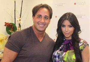 Mike Sherman with Kim Kardashian
