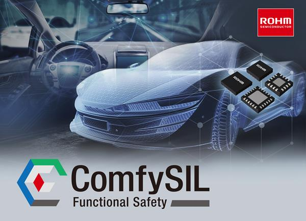 ROHM has consolidated more than 1,000 products under the ComfySIL™ brand to support functional safety in automotive systems.