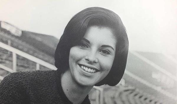 JU student Linda Berry, 1966