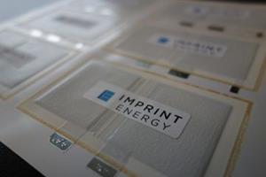 Imprint Energy ultrathin battery