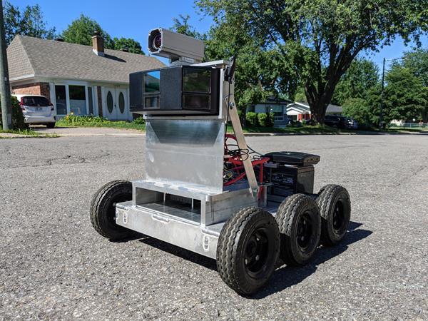 Wheel-E Robot de LeddarTech