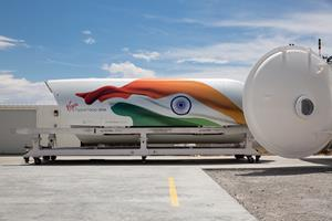 Chief Minister of Maharashtra visits Virgin Hyperloop One's test facility to view live test