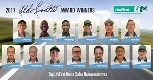 UniFirst Names Top Route Representatives in North America