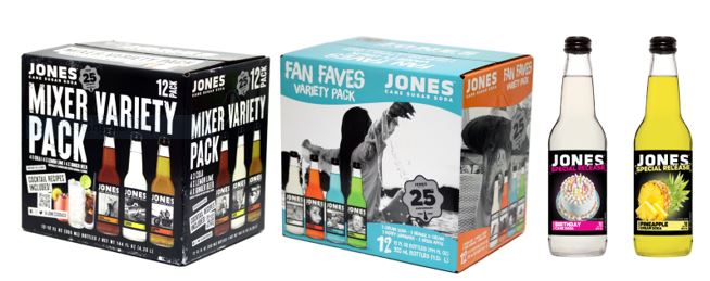 Jones Soda Launches Variety 12-Packs & Special Release Flavors