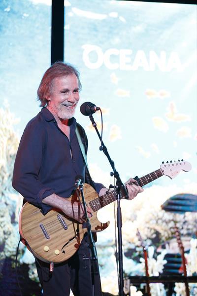 Jackson Browne delivers intimate performance for Oceana's SeaChange guests (C) Oceana/Ryan Miller