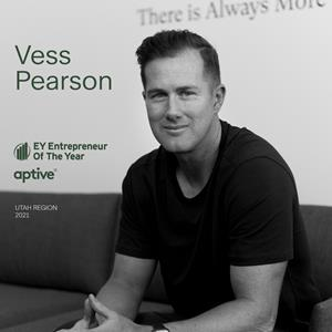 Co-Founder & CEO of Aptive Environmental, Vess Pearson, has been named a Winner for the EY Entrepreneur of The Year® 2021 Award in the Utah Region. The Entrepreneur Of The Year Awards program is one of the preeminent competitive awards for entrepreneurs and leaders of high-growth companies.