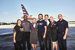 American Airlines Stands Up to Cancer
