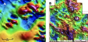 Figure 1: Airborne Magnetic Data