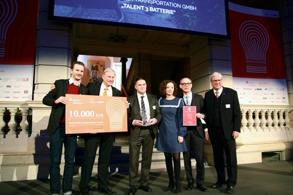 Bombardier's TALENT 3 battery electric multiple unit wins Berlin Brandenburg innovation award
