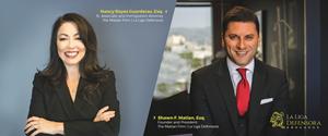 Nancy Reyes Guarderas, Esq. and  Shawn F. Matian, Esq. of The Matian Firm   La Liga Defensora