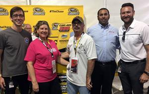 Responsibility Has Its Rewards Sweepstakes Winner at the Can-Am 500