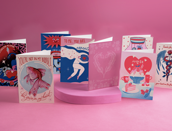 Canadian artists create new cards for London Drugs' inclusive Valentine's collection to reflect love during pandemic times