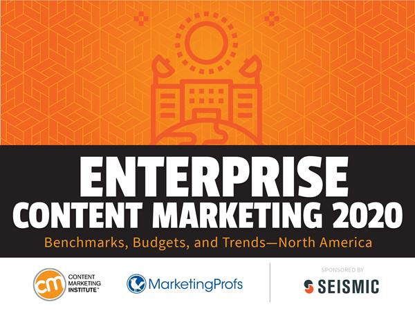 2020 Content Marketing Institute Enterprise Research Report