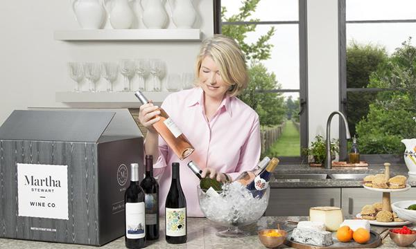 Martha Stewart launches Martha Stewart Wine Co.