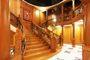 Guangdong Museum - Titanic Exhibition Grand Staircase Reproduction