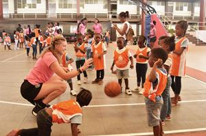 Sunwing Foundation and Sisters Keeper Basketball