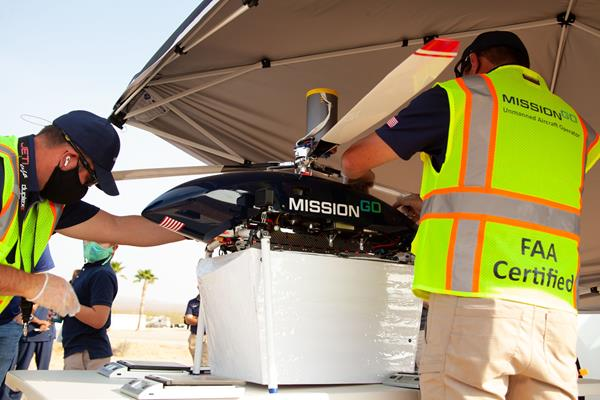 MissionGO and Nevada Donor Network UAS Organ Transportation Research Project
