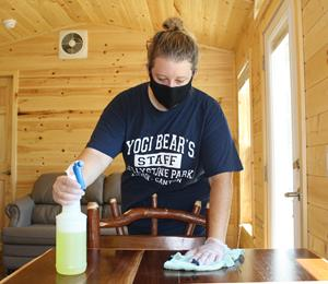 Jellystone-Park-cabin-cleaning