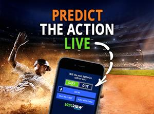WinView Games Predict MLB Action Live