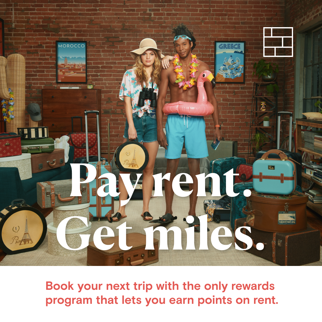 Points partners with Bilt Rewards as exclusive travel exchange partner for first-ever loyalty program that lets you earn rewards on rent