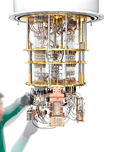 The consortium will build and operate a quantum computer based on Rigetti's superconducting quantum processor technology. Photo by Justin Fantl