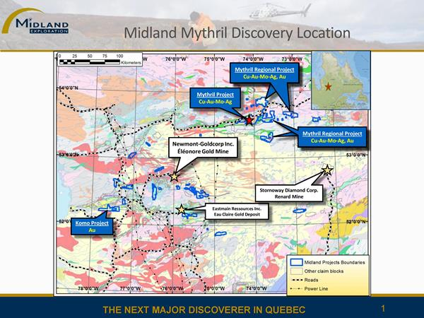 Localisation des projets Mythril et Mythril