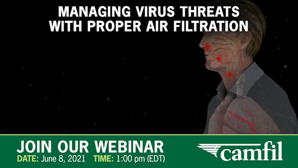 Association of Medical Facility Professionals and Camfil Clean Air Solutions to Host Free Webinar On June 8