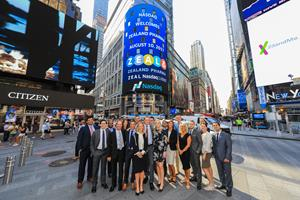 Nasdaq Welcomes Zealand Pharma (Nasdaq: ZEAL) to The Nasdaq Stock Market