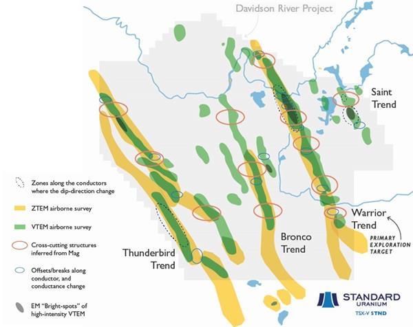Standard Uranium Davidson River Project