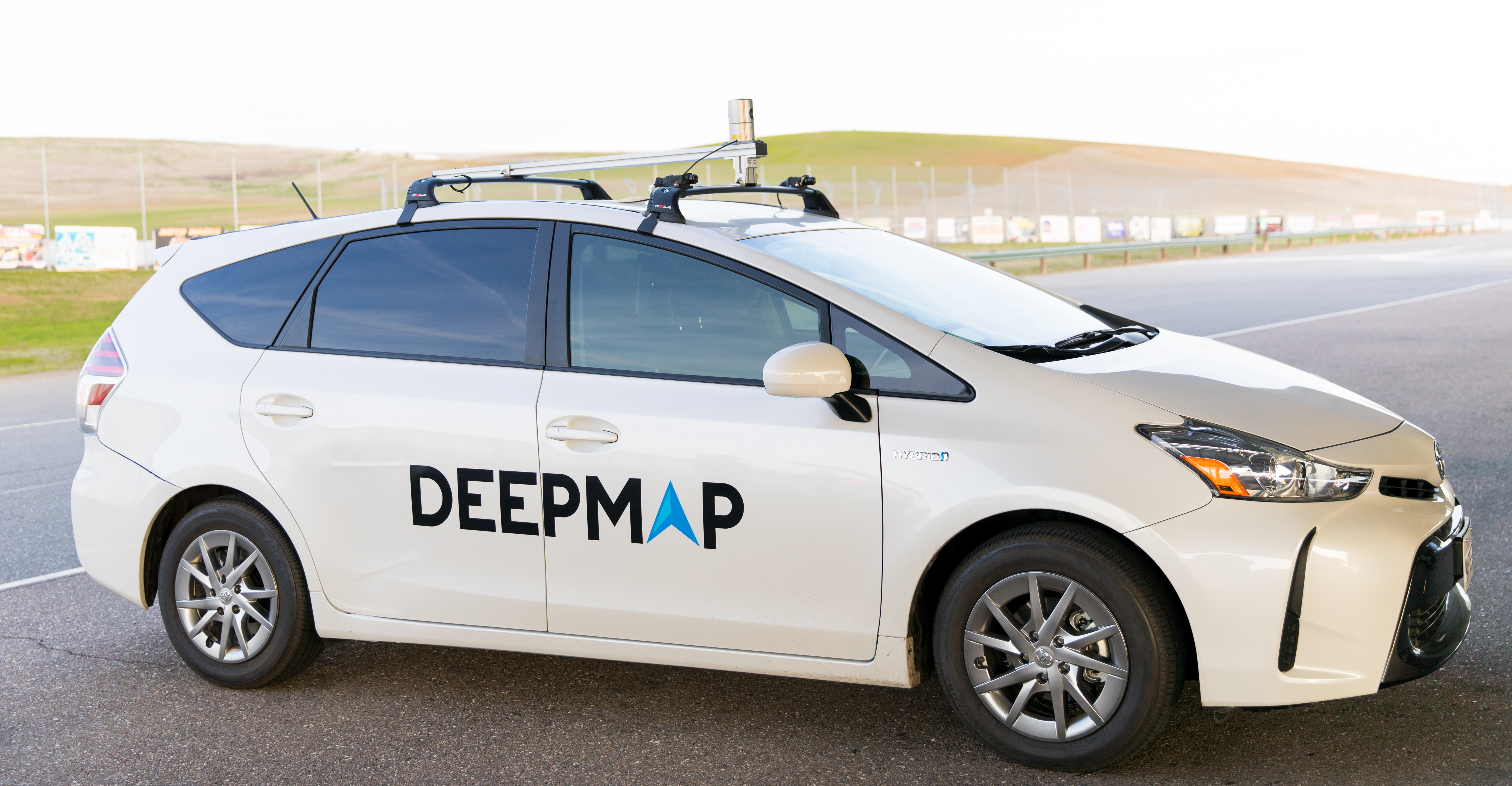 DeepMap vehicle