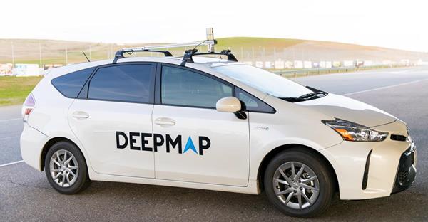 DeepMap vehicle