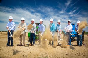 IFG founders and staff joined local politicians and leaders in a groundbreaking ceremony to kick off the development of the company's new $12 million state-of-the-art research facility and breeding campus.