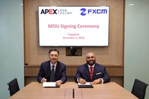 FXCM Group and APEX Sign Memorandum of Understanding to