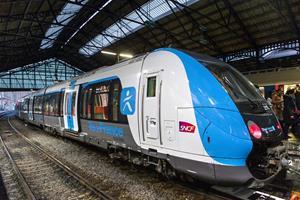 Francilien train for Greater Paris