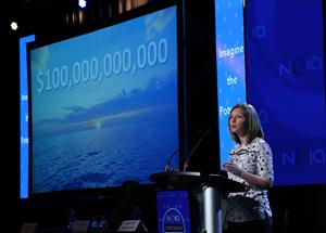 Charlene Johnson, CEO of the Newfoundland and Labrador Oil & Gas Industries Association (NOIA)