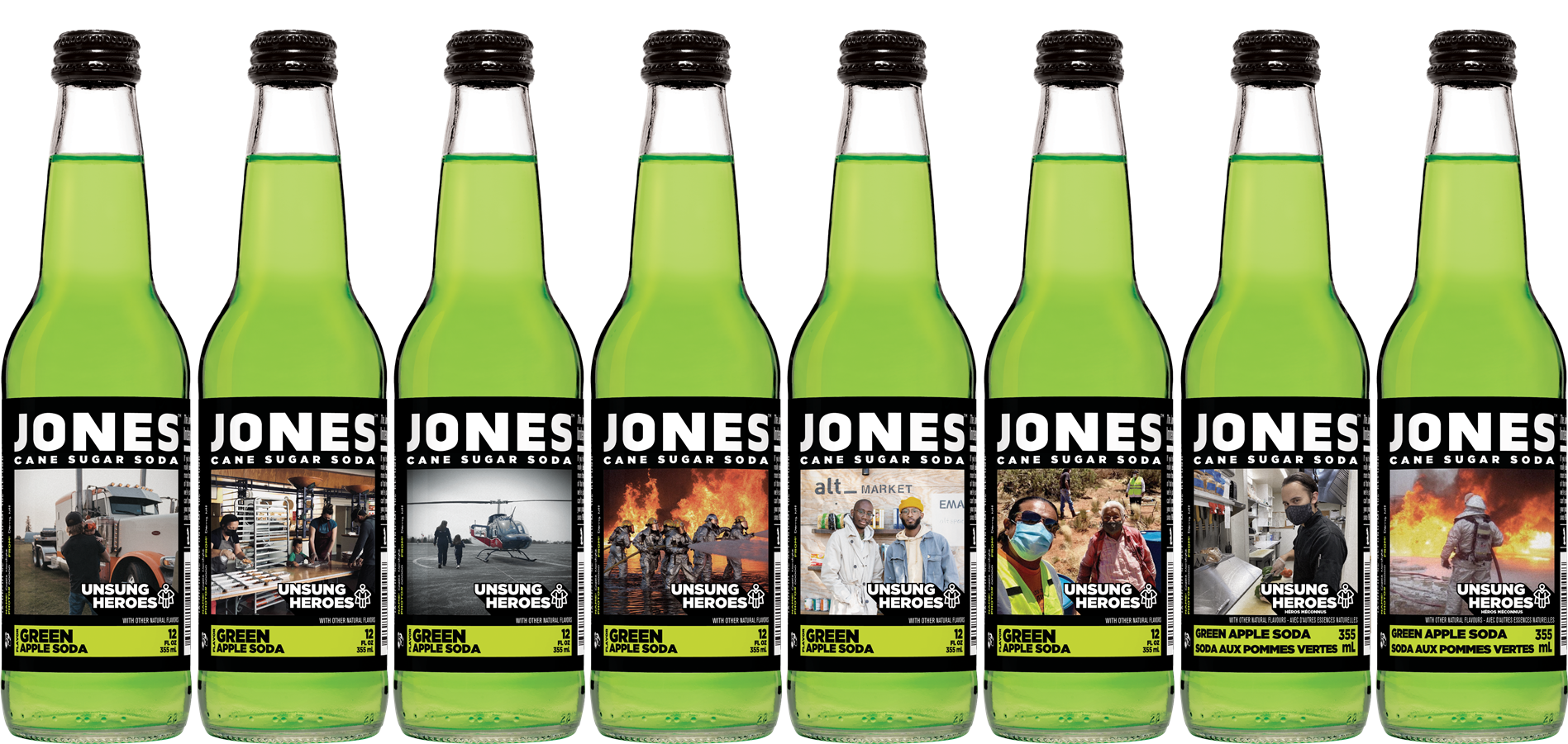 Jones Soda's 'Unsung Heroes' Series