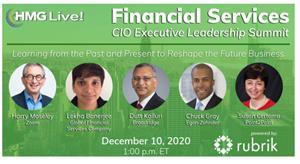 2020 HMG Live! Financial Services CIO Executive Leadership Summit