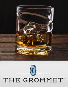 The Epicureanist Helix spinning whiskey glass