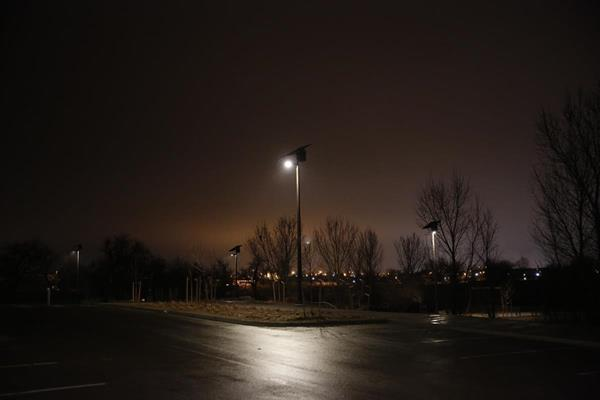 Sol's EverGen solar outdoor lights are installed in Sand Creek Park in Aurora, Colorado. In more northern states like Colorado, solar lighting for parks or streets is more viable than ever before thanks to Sol's new and unique energy management system.